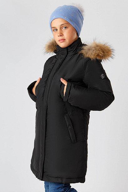 Полупальто для девочки, Модель KA18-71016, Фото №1