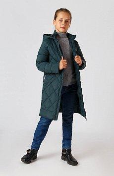 Пальто для девочки, Модель KA18-71026, Фото №2