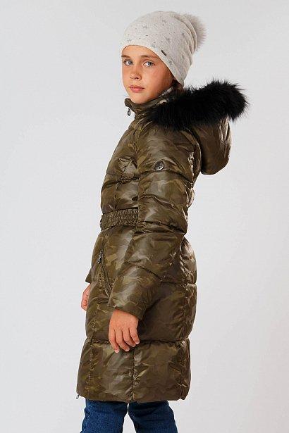 Полупальто для девочки, Модель KA18-71006, Фото №3