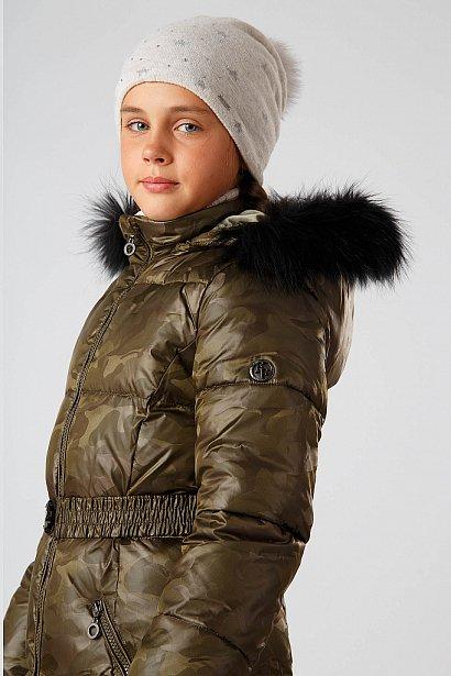Полупальто для девочки, Модель KA18-71006, Фото №5