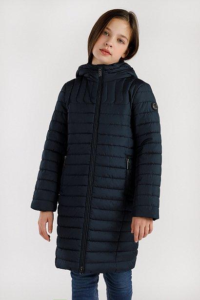 Пальто для девочки, Модель KA19-71008, Фото №1