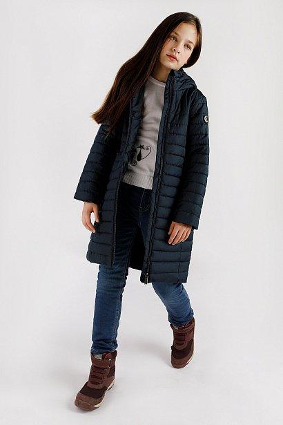 Пальто для девочки, Модель KA19-71008, Фото №2