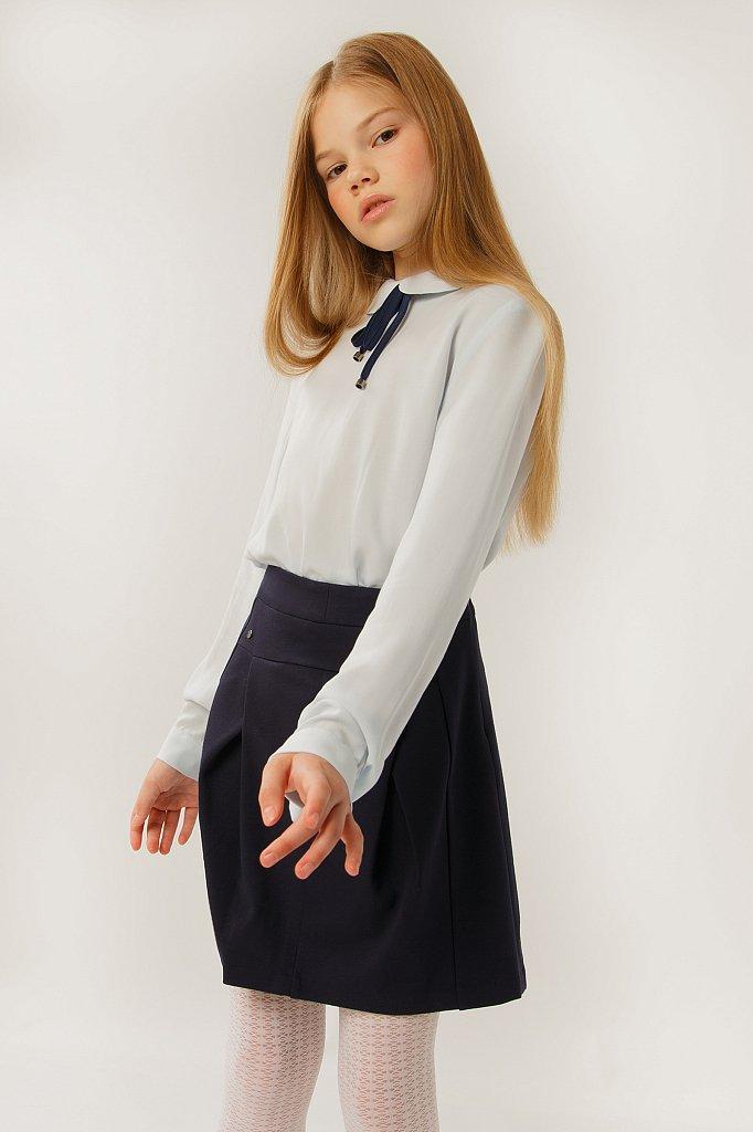 Блузка для девочки, Модель KA19-76002R, Фото №1