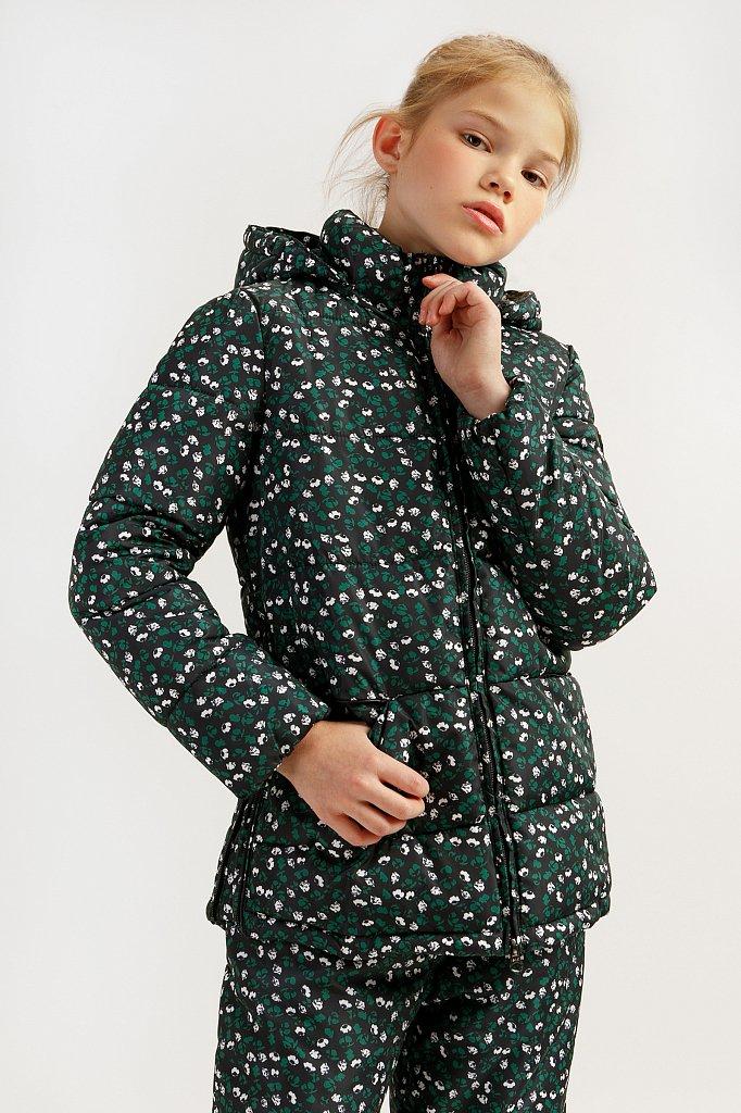 Куртка для девочки, Модель KA19-71003, Фото №1
