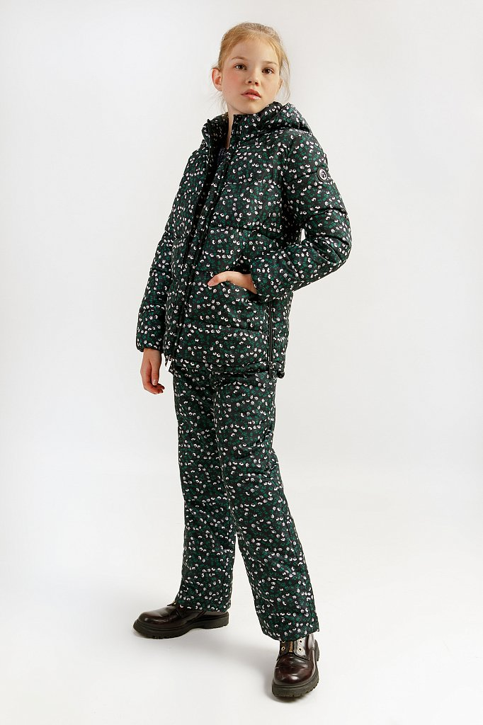 Куртка для девочки, Модель KA19-71003, Фото №2