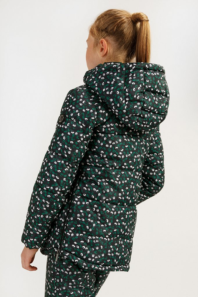 Куртка для девочки, Модель KA19-71003, Фото №4