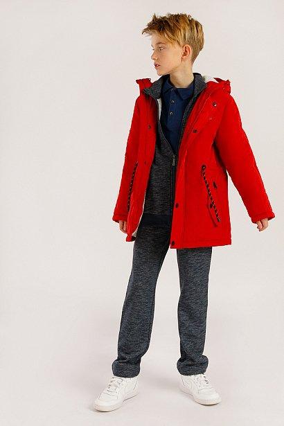 Полупальто для мальчика, Модель KA19-81005, Фото №2