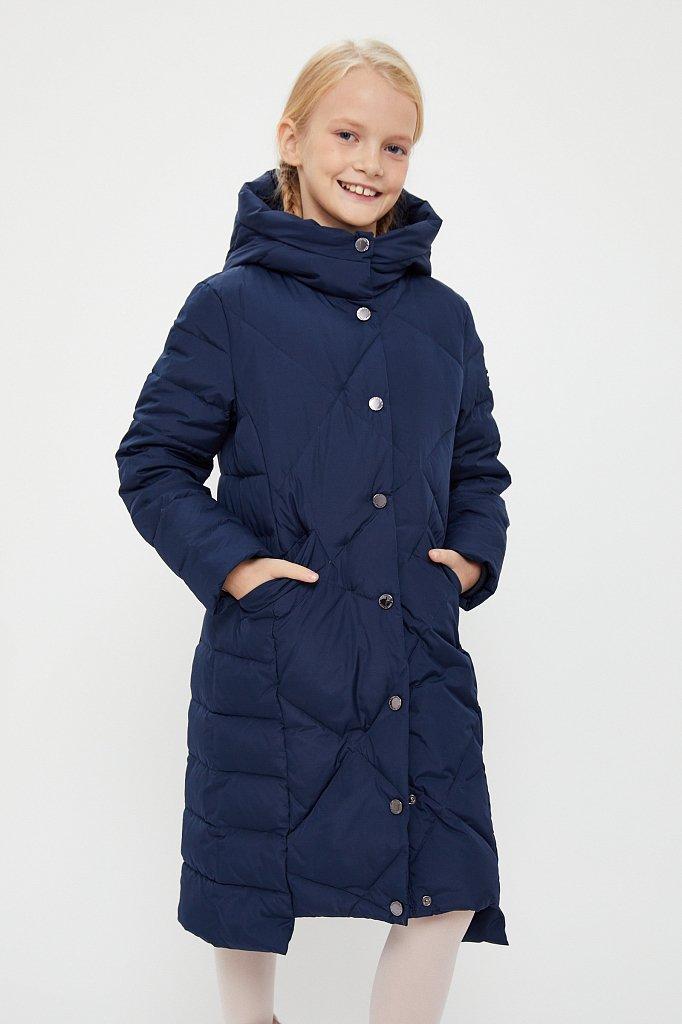 Пальто для девочки, Модель KA20-71001, Фото №1