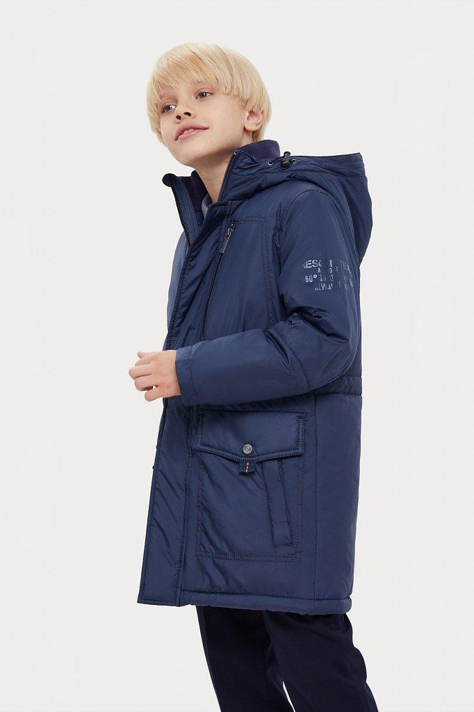 Пальто для мальчика, Модель KA20-81001, Фото №1