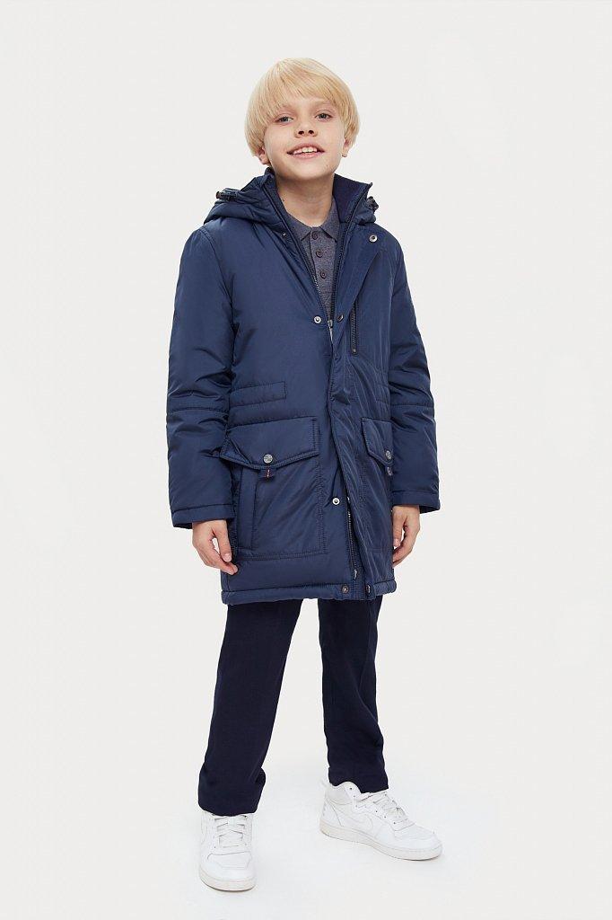 Пальто для мальчика, Модель KA20-81001, Фото №3