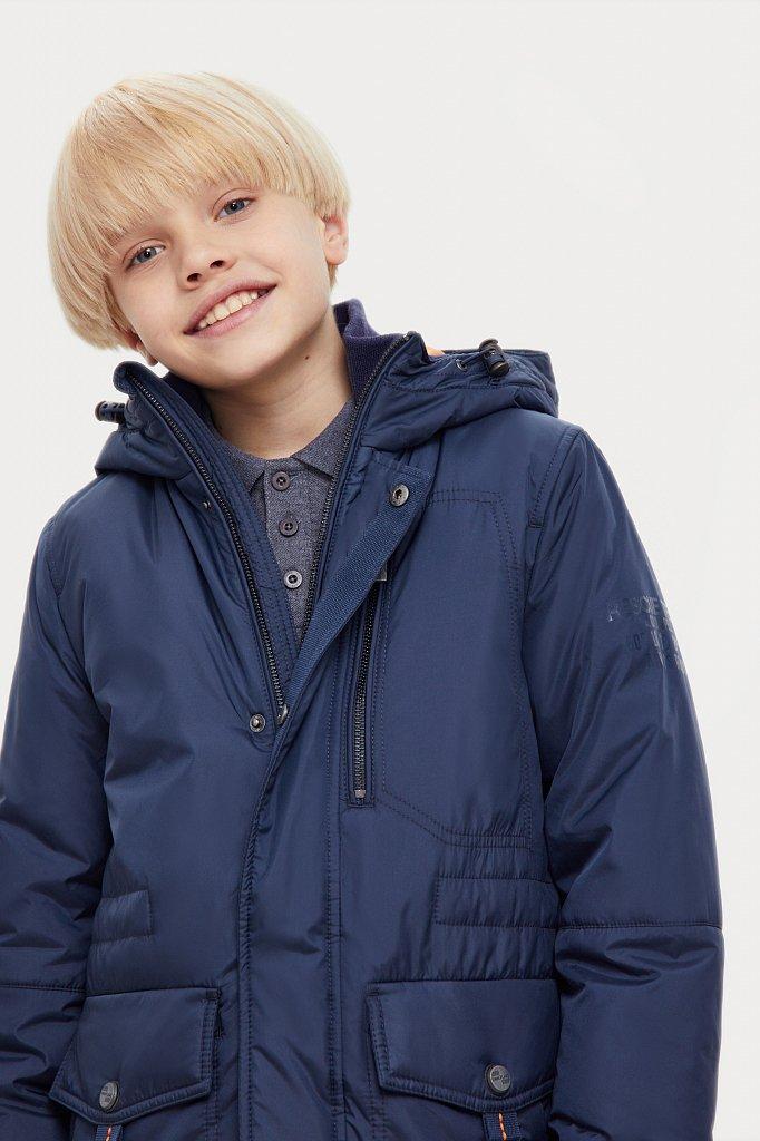 Пальто для мальчика, Модель KA20-81001, Фото №6