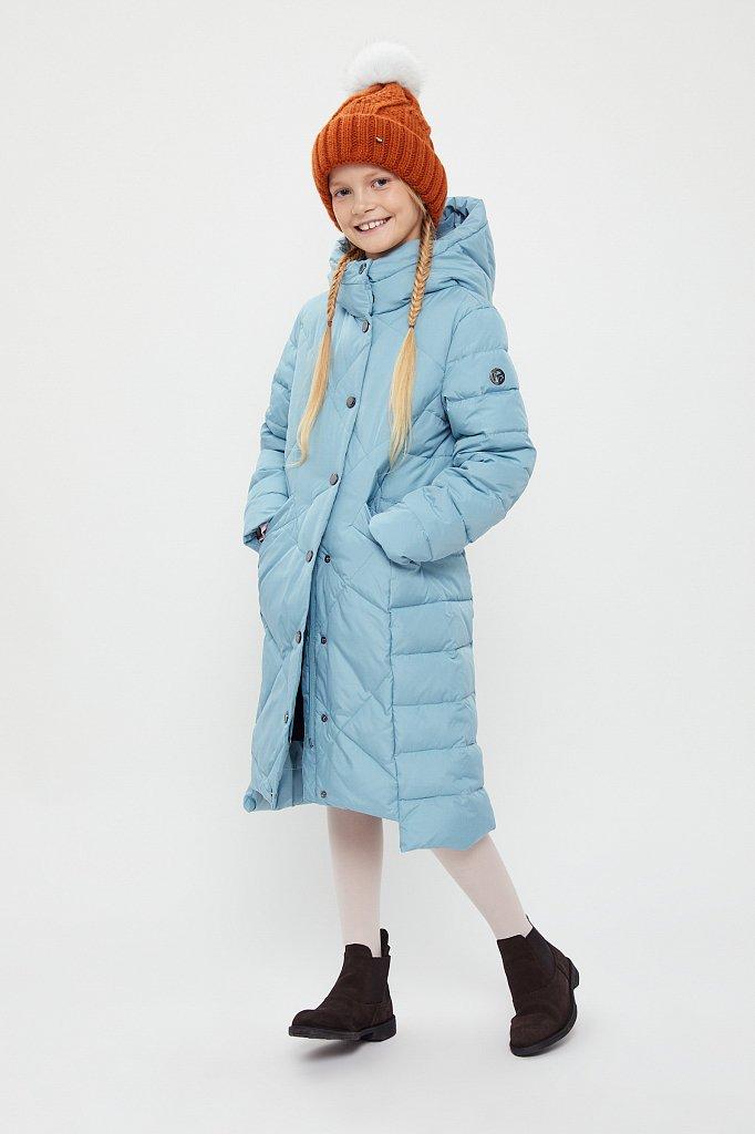 Пальто для девочки, Модель KA20-71001, Фото №2