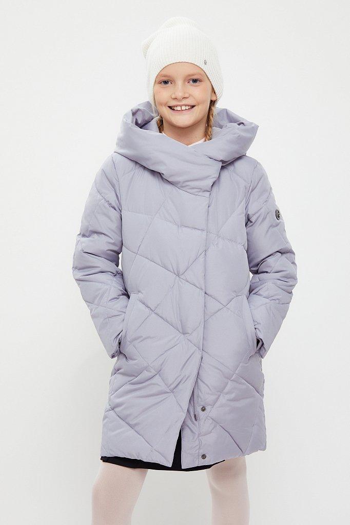 Пальто для девочки, Модель KA20-71002, Фото №1