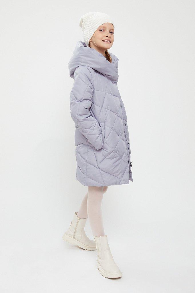 Пальто для девочки, Модель KA20-71002, Фото №2