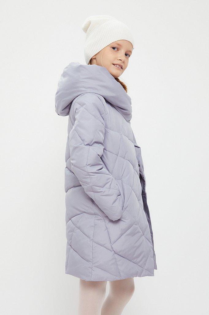 Пальто для девочки, Модель KA20-71002, Фото №3