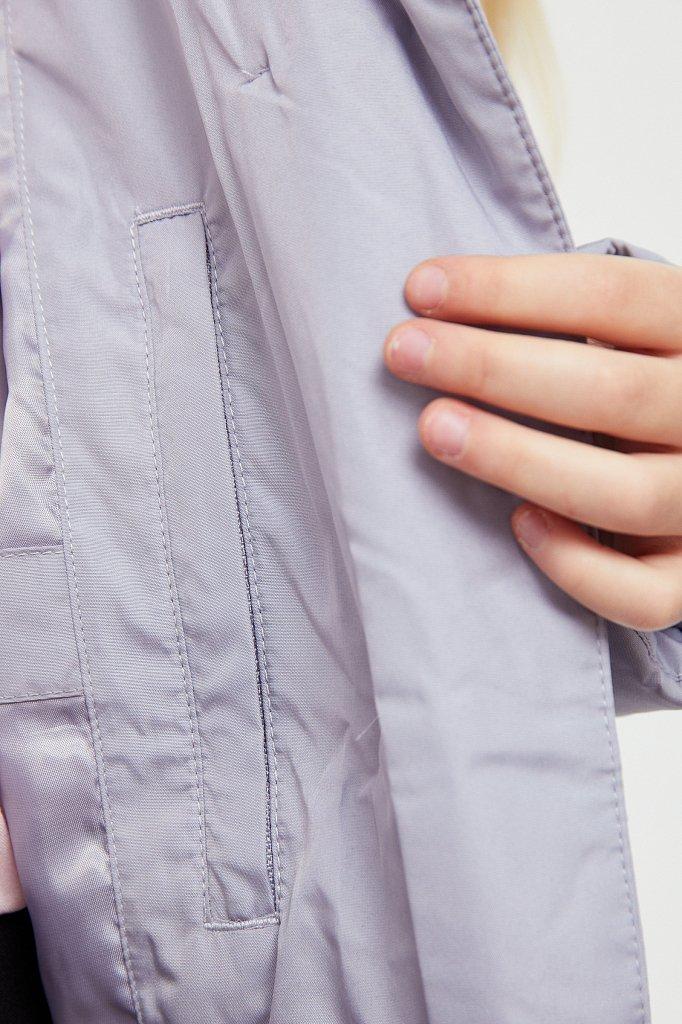 Пальто для девочки, Модель KA20-71002, Фото №5