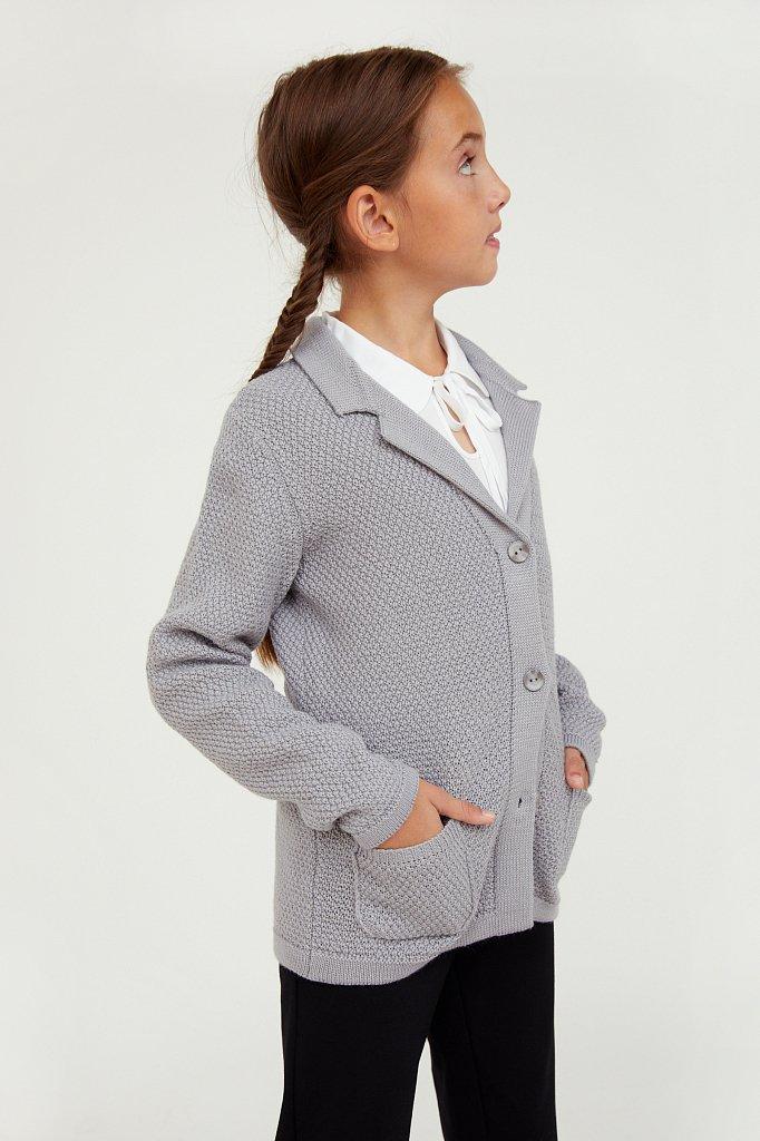 Жакет для девочки, Модель KA20-76101, Фото №3
