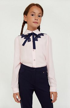Блузка для девочки, Модель KA20-76004R, Фото №1
