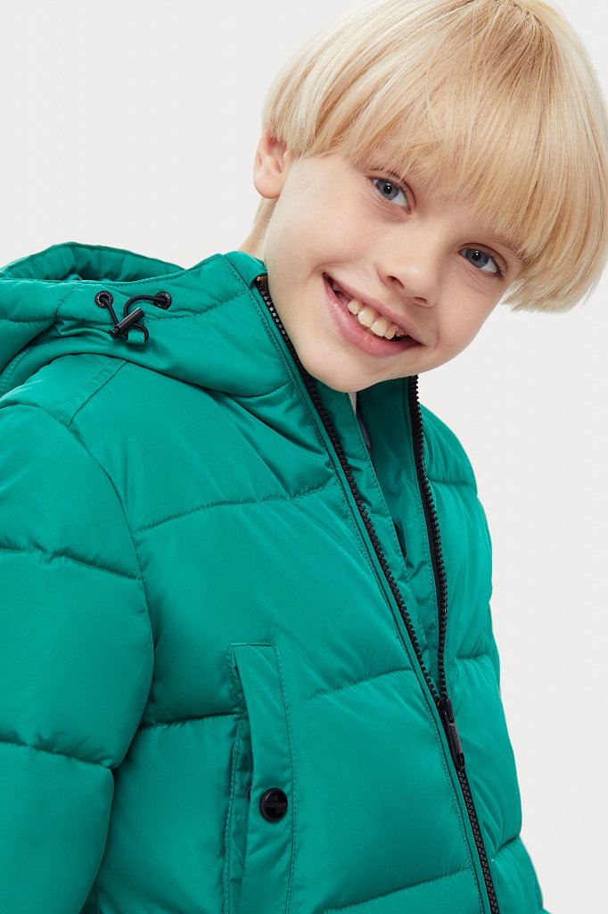 Полупальто для мальчика, Модель KA20-81004, Фото №6