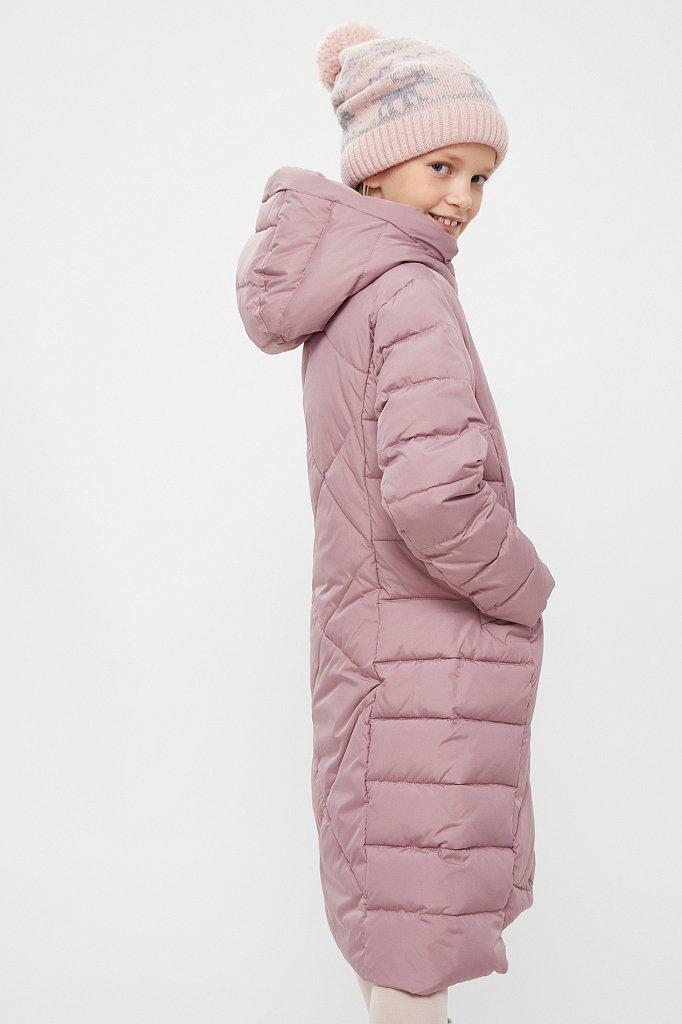 Пальто для девочки, Модель KA20-71001, Фото №3