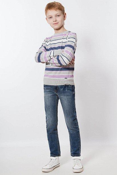 Брюки для мальчика (джинсы), Модель KB18-85017, Фото №2