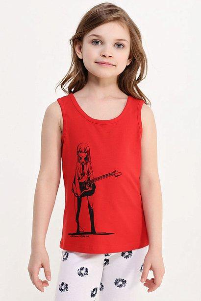 Майка для девочки, Модель KS17-71041B, Фото №3