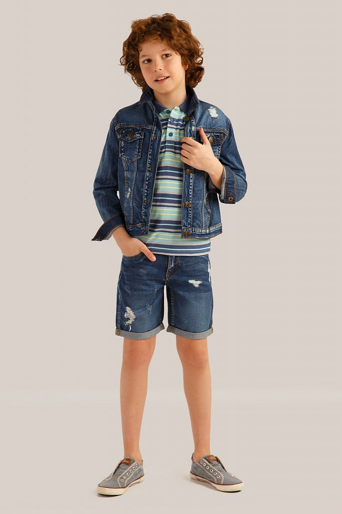 Куртка для мальчика, Модель KS19-85019, Фото №2