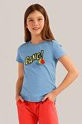 Футболка для девочки, Модель KS19-71017, Фото №1