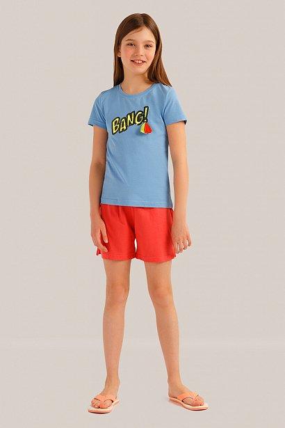 Футболка для девочки, Модель KS19-71017, Фото №2