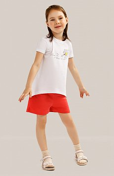 Футболка для девочки, Модель KS19-71014, Фото №2