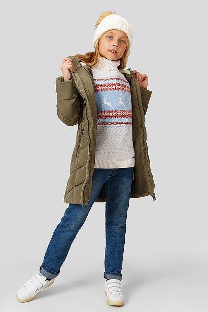 Полупальто для девочки, Модель KW18-71000, Фото №2