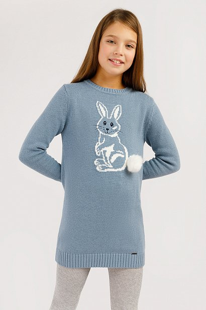 Платье для девочки, Модель KW19-71113, Фото №4