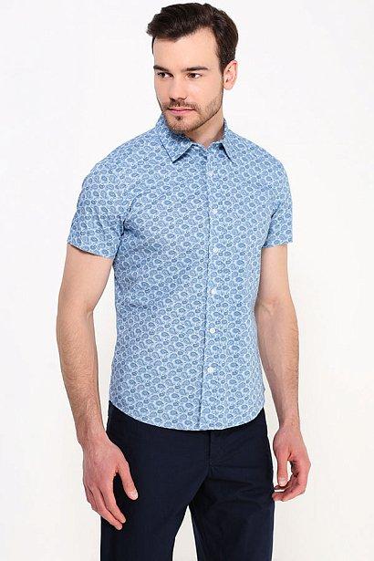 Рубашка мужская, Модель S17-22022, Фото №3