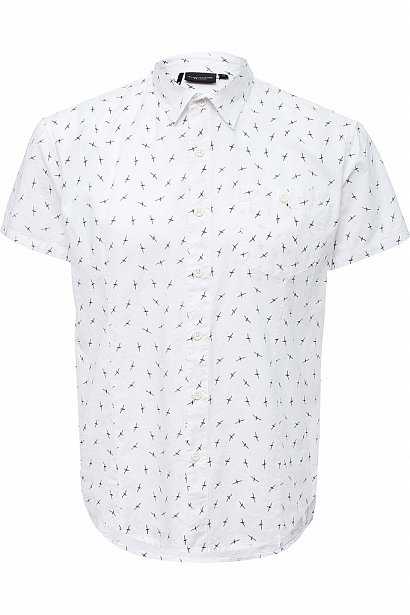 Рубашка мужская, Модель S17-24016, Фото №1