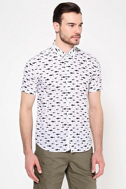 Рубашка мужская, Модель S17-24038, Фото №3