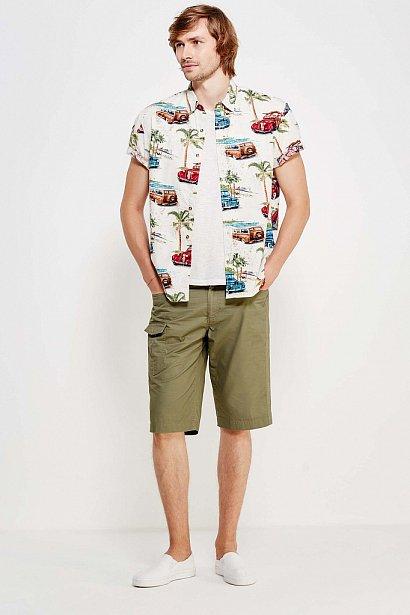 Рубашка мужская, Модель S17-24019, Фото №2