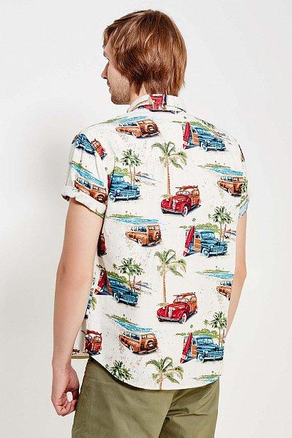 Рубашка мужская, Модель S17-24019, Фото №4