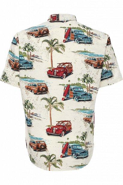 Рубашка мужская, Модель S17-24019, Фото №5