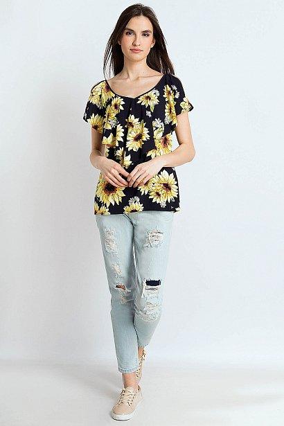 Блузка женская, Модель S18-14034, Фото №3