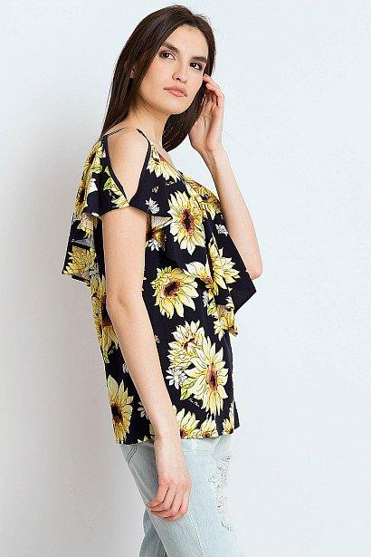 Блузка женская, Модель S18-14034, Фото №4