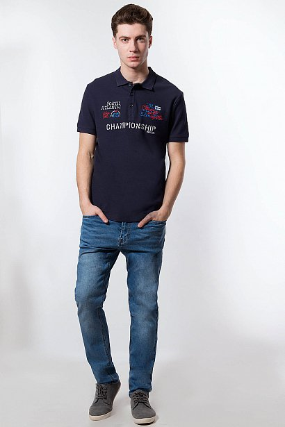 Футболка Поло мужская, Модель S18-24030, Фото №3