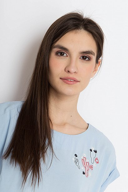 Блузка женская, Модель S18-12055, Фото №6
