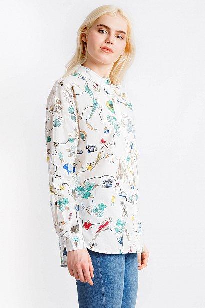 Блузка женская, Модель S18-14032, Фото №4