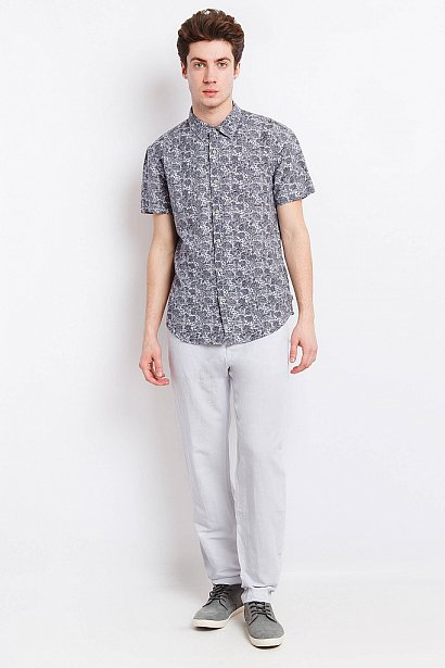 Рубашка мужская, Модель S18-21007, Фото №3