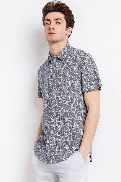 Рубашка мужская, Модель S18-21007, Фото №4