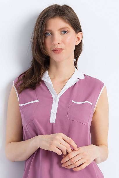Блузка женская, Модель S18-11088, Фото №6