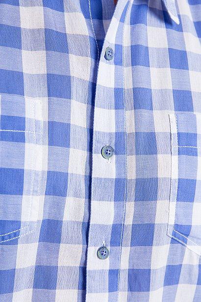 Рубашка мужская, Модель S18-24014, Фото №7