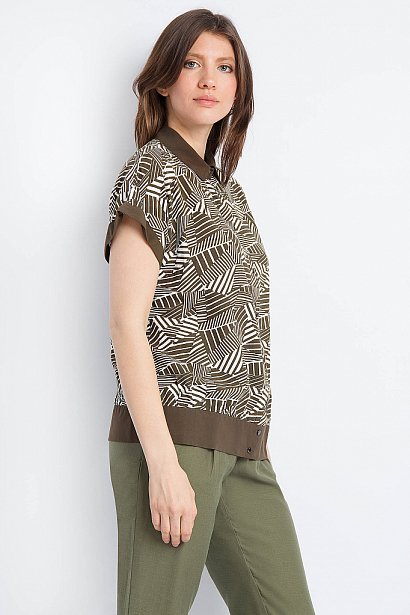 Блузка женская, Модель S18-12044, Фото №4