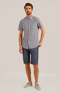 Рубашка мужская, Модель S19-24011, Фото №2