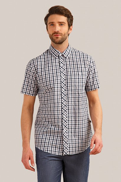 Рубашка мужская, Модель S19-24011, Фото №1